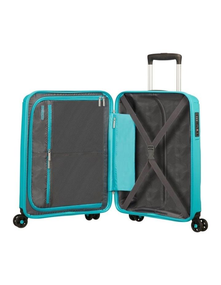 Sunside 55cm Small Hard Spin Case - Aero Turquoise image 2