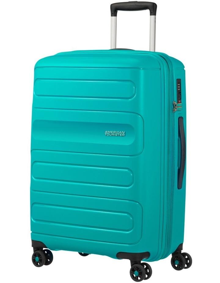 Sunside 68cm Med Hard Spin Case - Turquoise image 1