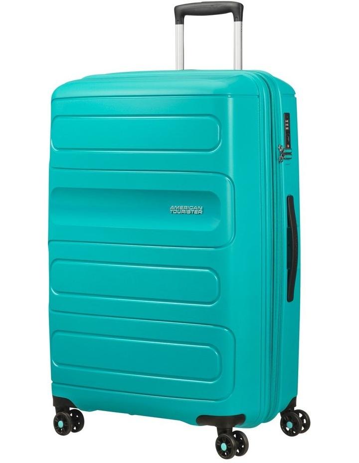 Sunside 81cm Lrg Hard Spin Case - Turquoise image 1