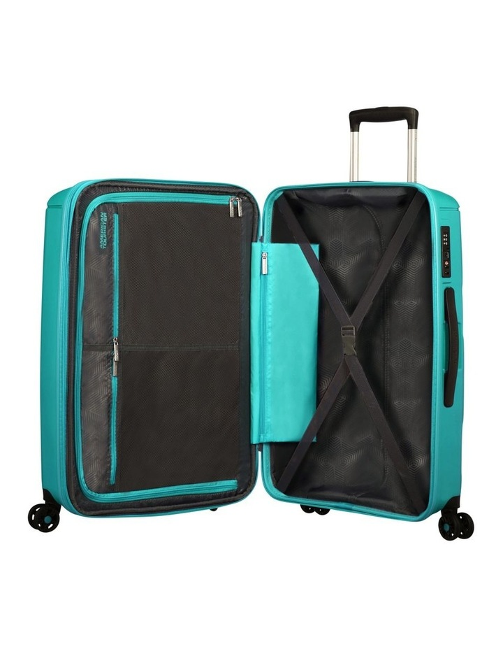 Sunside 81cm Lrg Hard Spin Case - Turquoise image 5
