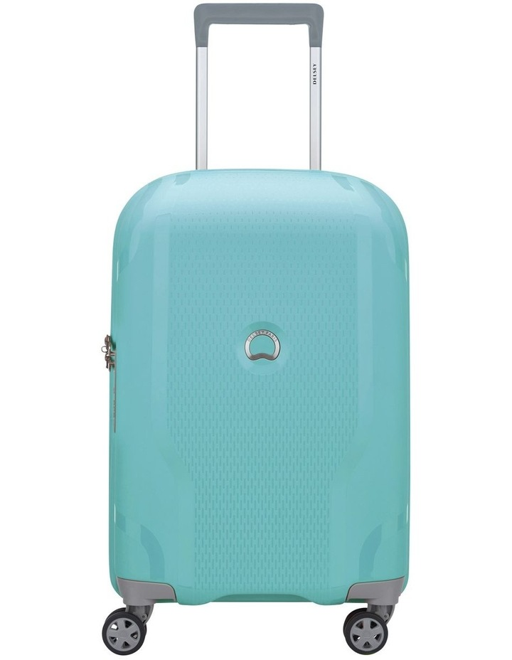 Clavel Valise 55cm 4 Wheel Expandable Cabin Suitcase in Teal image 1