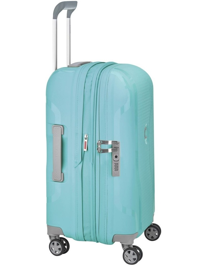 Clavel Valise 55cm 4 Wheel Expandable Cabin Suitcase in Teal image 2