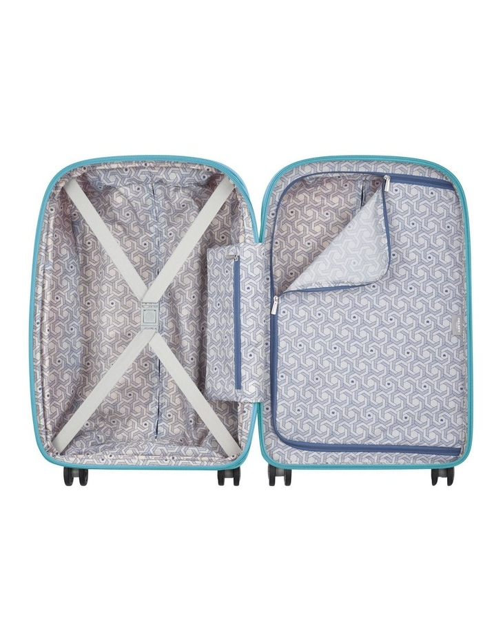 Clavel Valise 55cm 4 Wheel Expandable Cabin Suitcase in Teal image 3