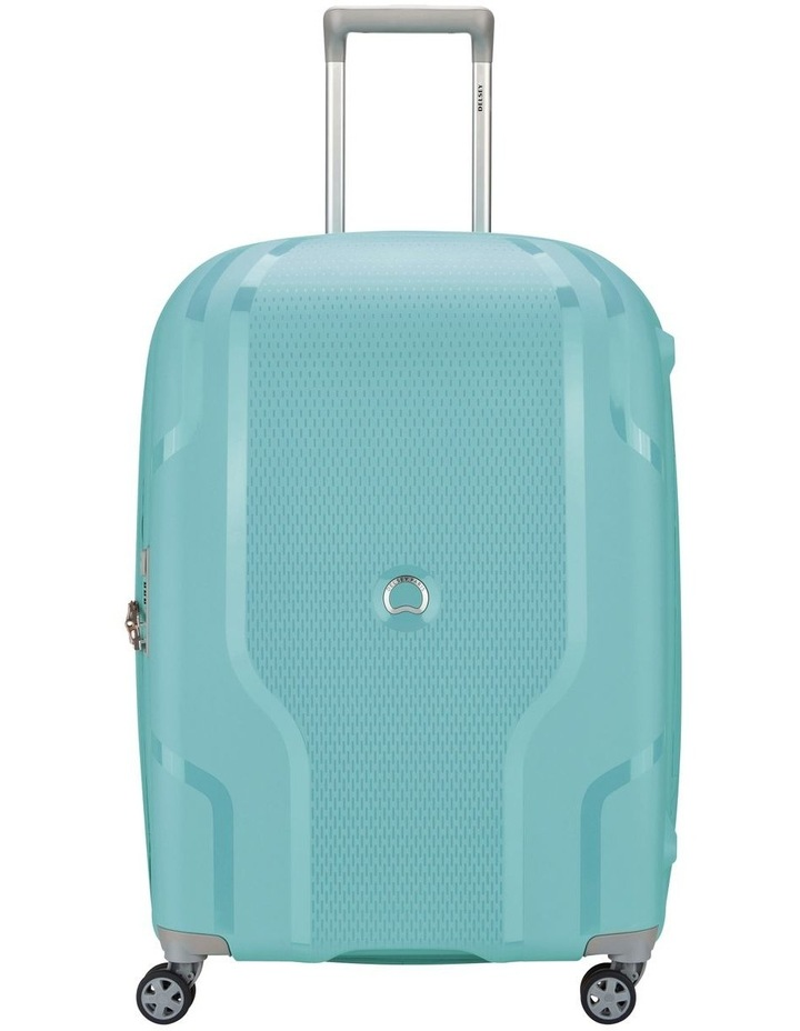 Clavel Valise Medium 71cm 4 Wheel Expandable Suitcase in Teal image 1