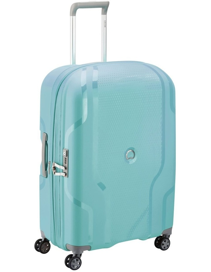 Clavel Valise Medium 71cm 4 Wheel Expandable Suitcase in Teal image 2