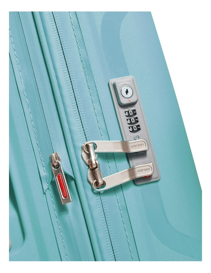 Clavel Valise Medium 71cm 4 Wheel Expandable Suitcase in Teal image 4