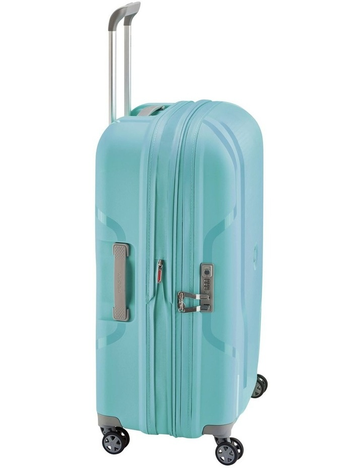 Clavel Valise Medium 71cm 4 Wheel Expandable Suitcase in Teal image 5