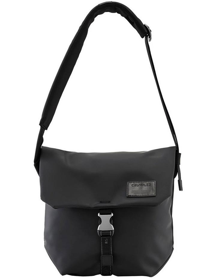 Bean Messenger Bag - Black image 1