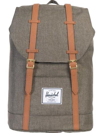 f9b68e1e906 HerschelRetreat Canteen Synthetic Leather Backpack   Crosshatch Tan.  Herschel Retreat Canteen Synthetic Leather Backpack   Crosshatch Tan