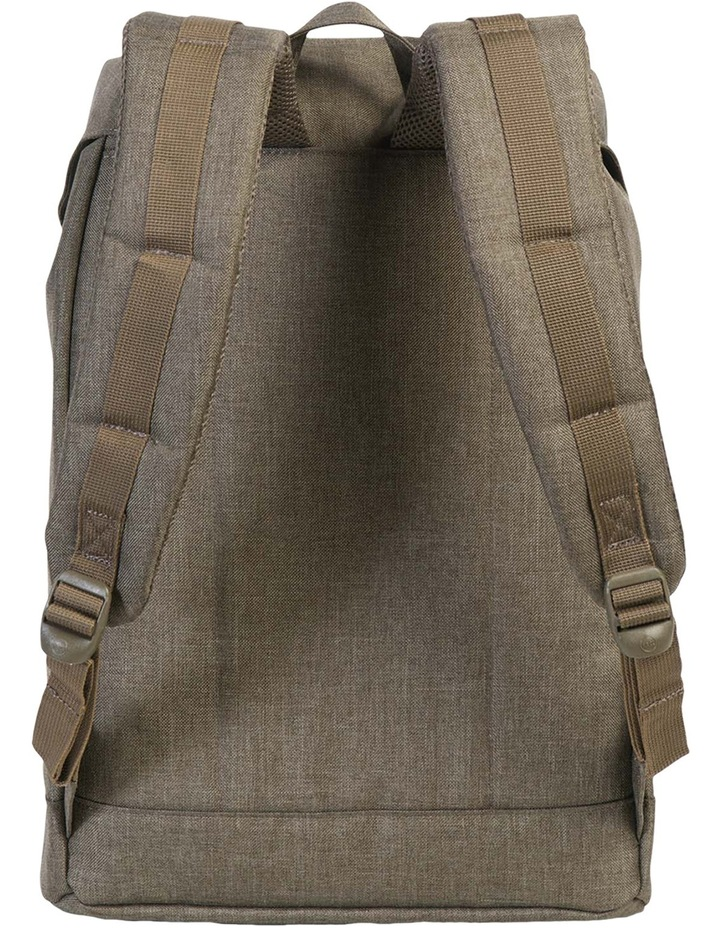 Retreat Canteen Synthetic Leather Backpack : Crosshatch/Tan image 4
