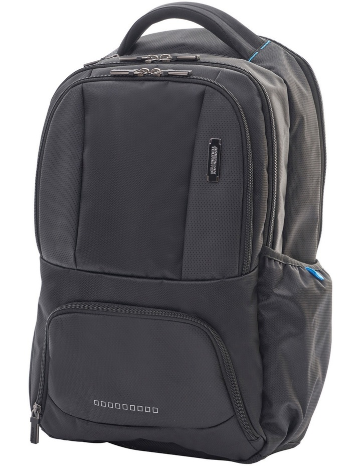 Logix Laptop Backpack: Black image 1