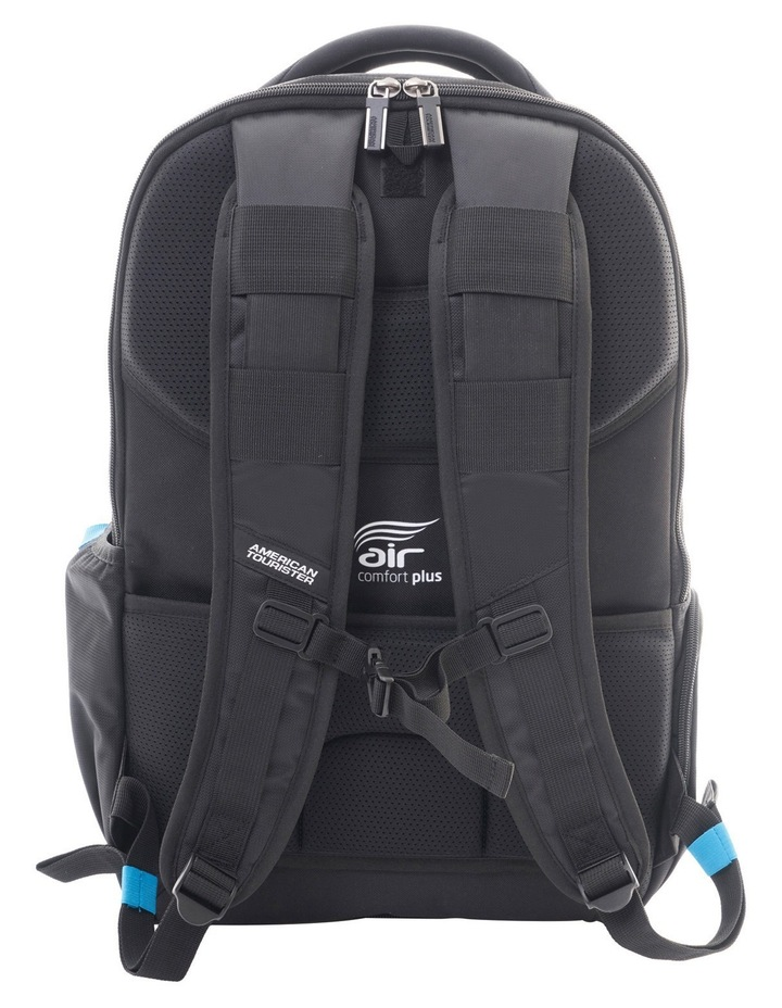 Logix Laptop Backpack: Black image 2