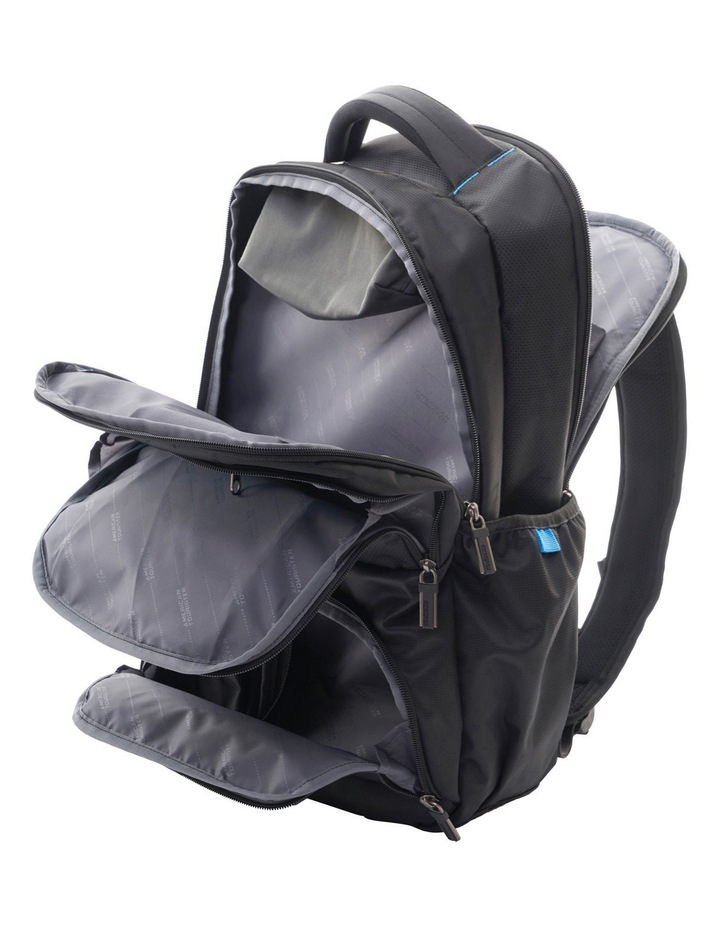 Logix Laptop Backpack: Black image 3