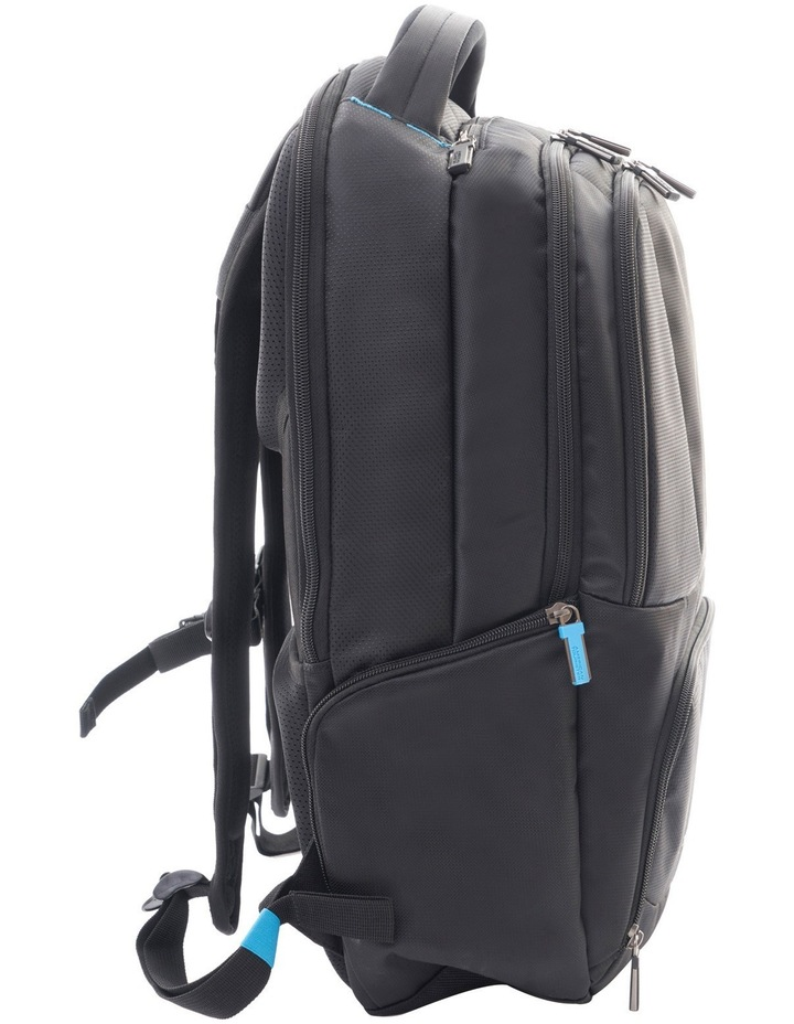 Logix Laptop Backpack: Black image 4