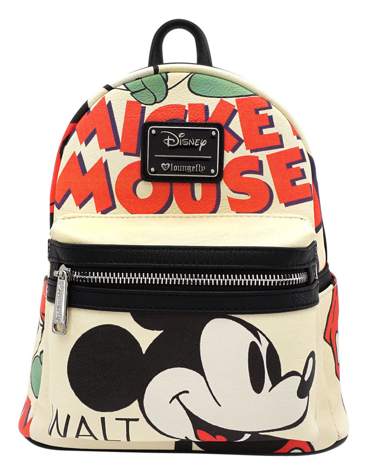 2237603fce Mickey Faux Leather Mini Backpack image 1