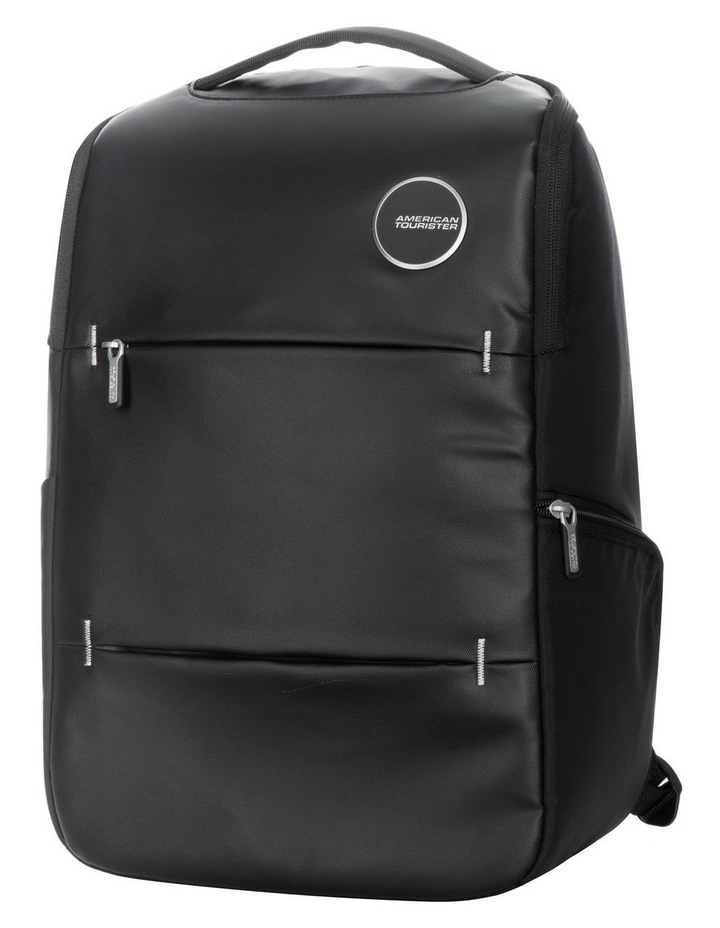 Curio Laptop Backpack : Black image 1