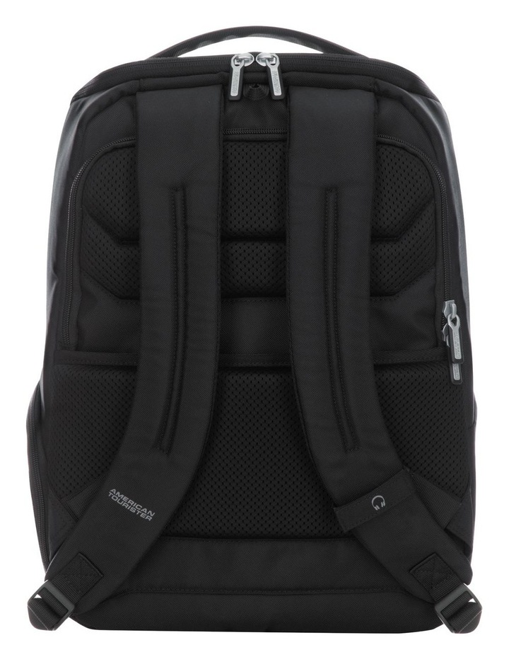 Curio Laptop Backpack : Black image 2