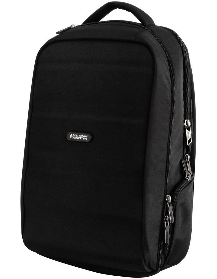 Bon Air Hard shell Laptop Backpack : Black image 1