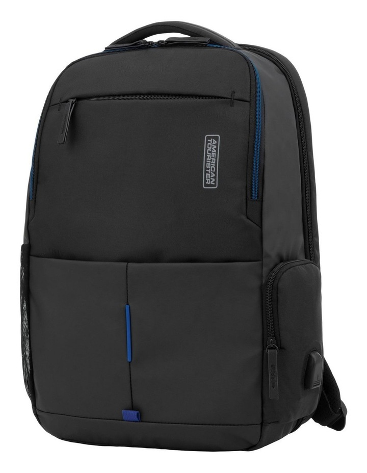 Zork Laptop Backpack : Black image 1