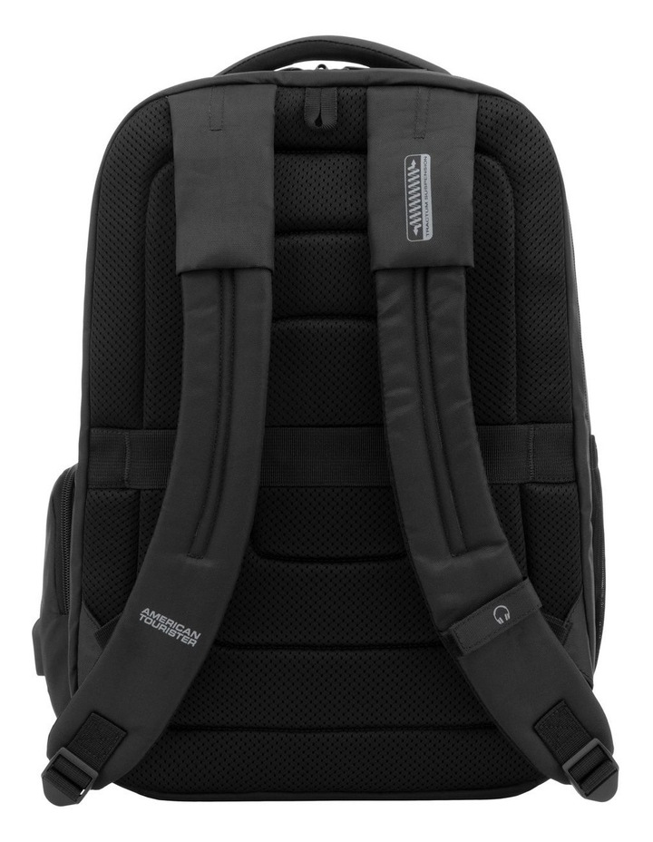 Zork Laptop Backpack : Black image 2