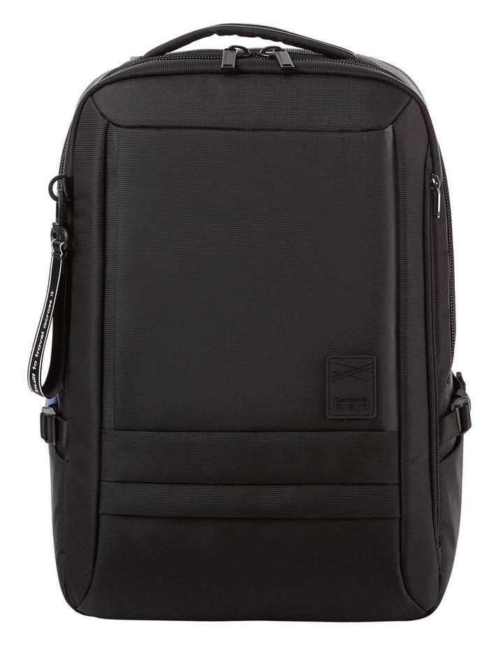 Plantpack 2 Flap Backpack Black image 1