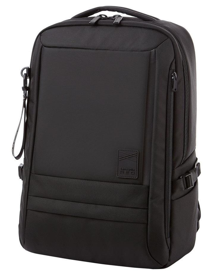 Plantpack 2 Flap Backpack Black image 2