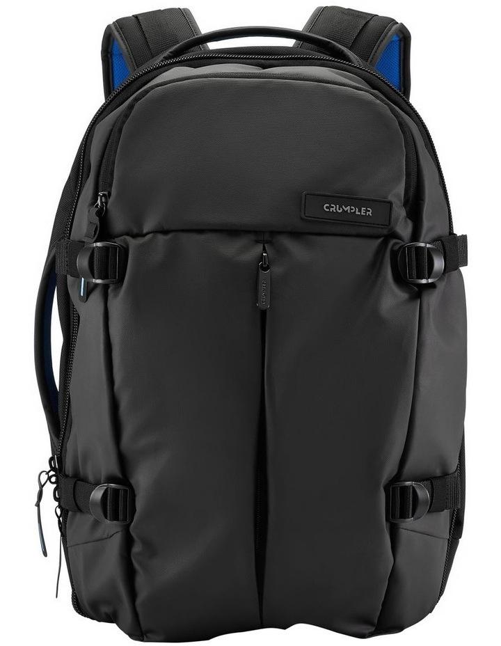 Zero Border Backpack: Black image 1