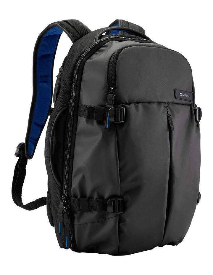 Zero Border Backpack: Black image 4