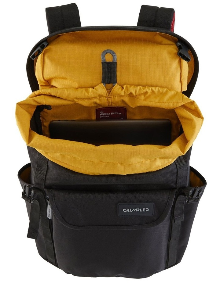 Hidden Retreat Backpack - Black image 4