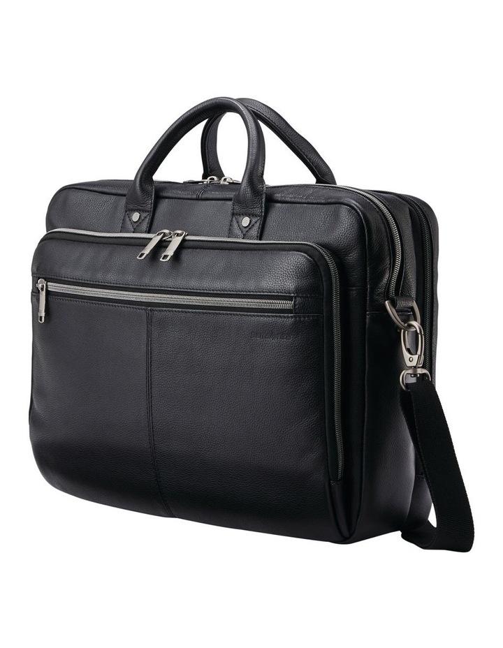 Classic Leather Toploader Black image 3