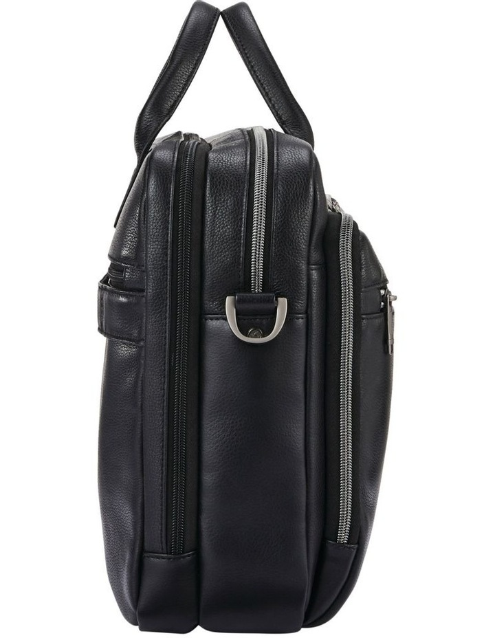Classic Leather Toploader Black image 4