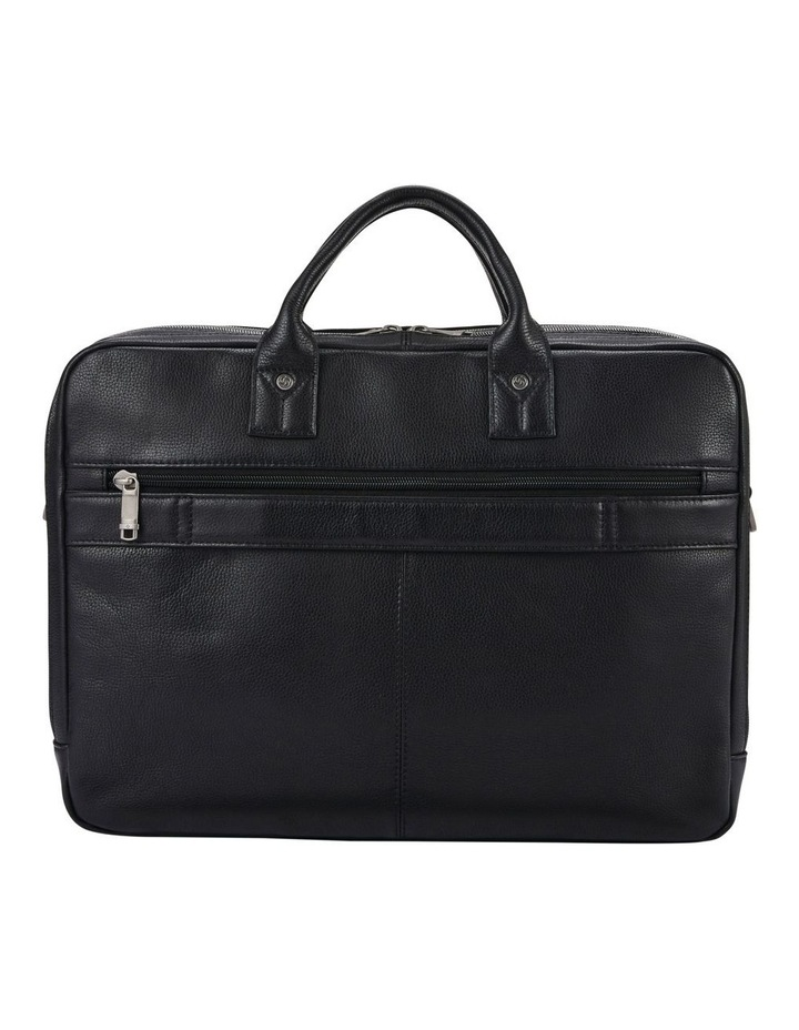 Classic Leather Toploader Black image 5