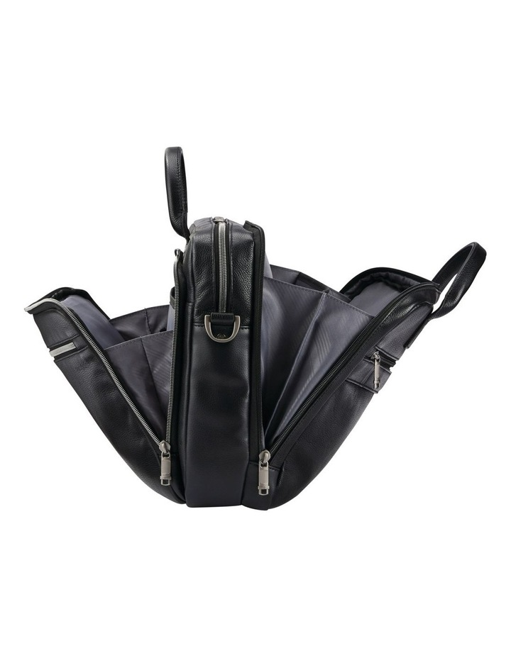 Classic Leather Toploader Black image 6