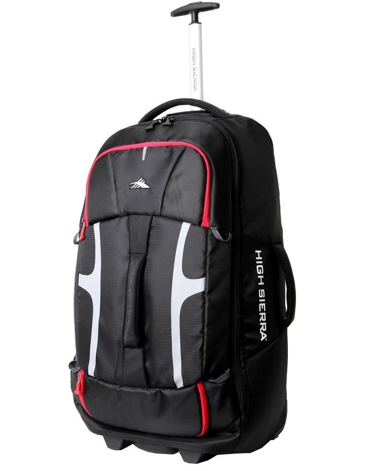 67996-1041 Composite Wheeled Duffle with Removable Backpack 76cm Black image 1