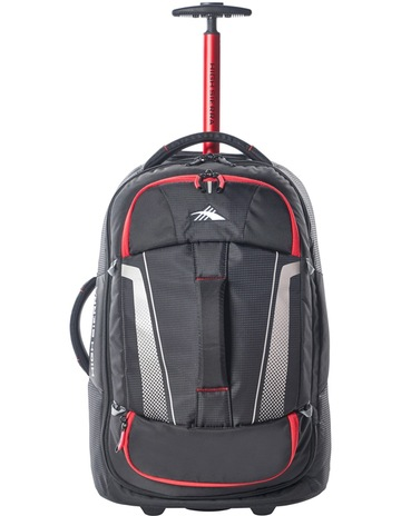 29bedce3f7 High Sierra87274-1041 Composite wheeled duffle 56cm  Black Red 2.3kg. High  Sierra 87274-1041 Composite wheeled duffle 56cm  Black Red 2.3kg
