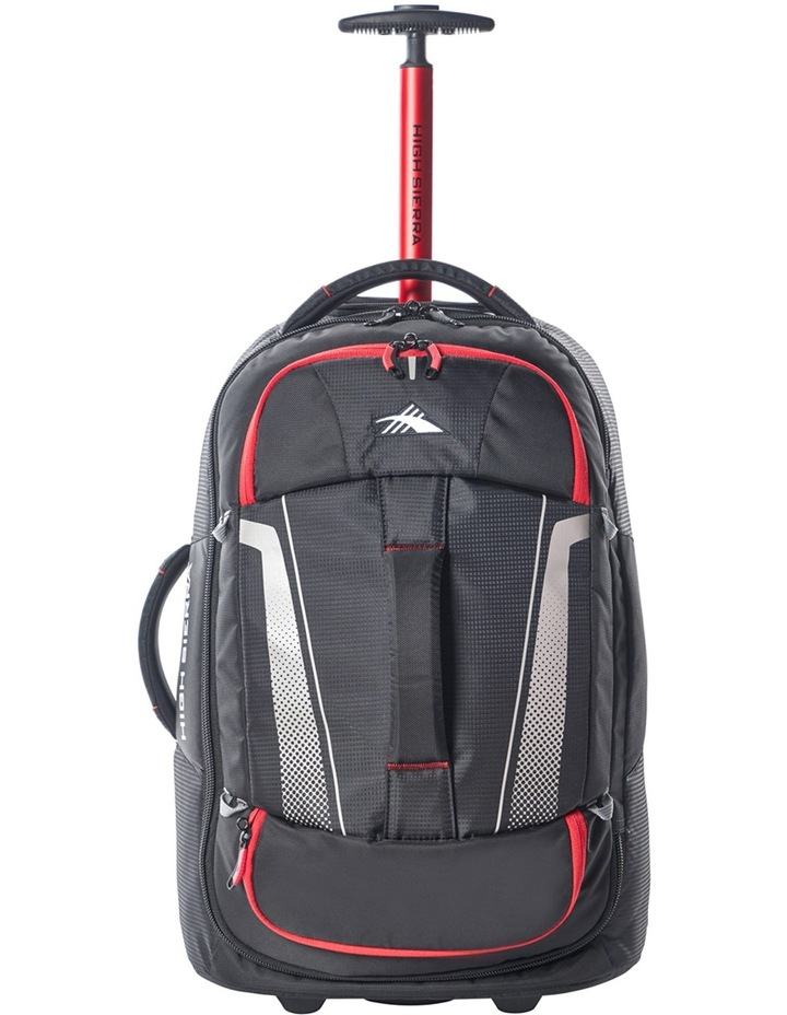 87274-1041 Composite wheeled duffle 56cm: Black/Red  2.3kg image 1