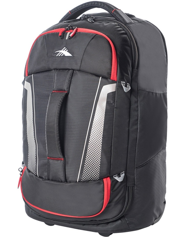 87274-1041 Composite wheeled duffle 56cm: Black/Red 2.3kg image 2