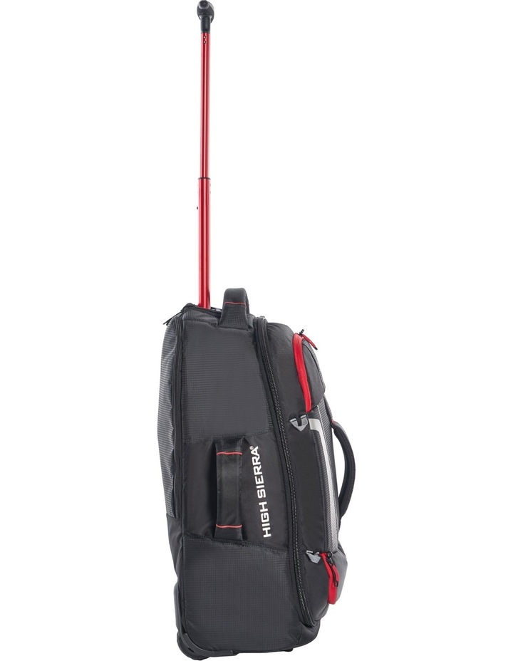 87274-1041 Composite wheeled duffle 56cm: Black/Red  2.3kg image 4