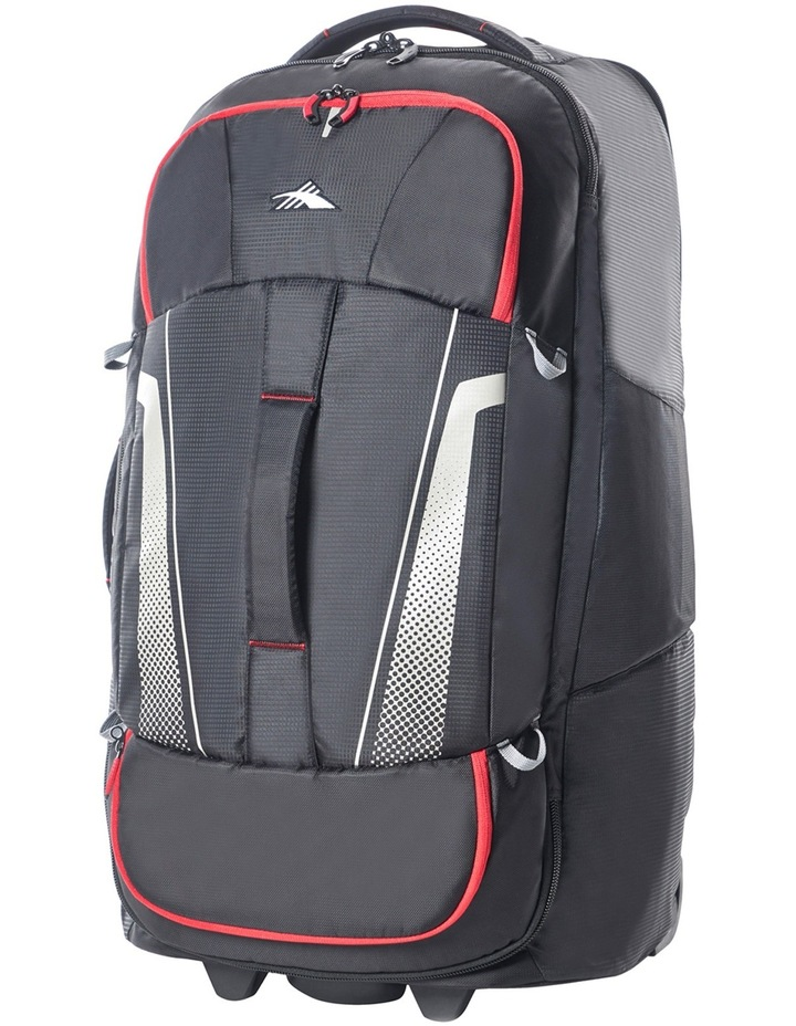 87275-1041 Composite Wheeled duffle 76cm : Black/Red 2.9kg image 4