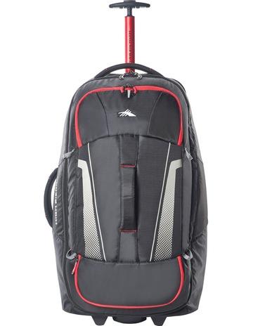 d5de0f5d55 High Sierra87275-1041 Composite Wheeled duffle 76cm   Black Red 2.9kg. High  Sierra 87275-1041 Composite Wheeled duffle 76cm   Black Red 2.9kg