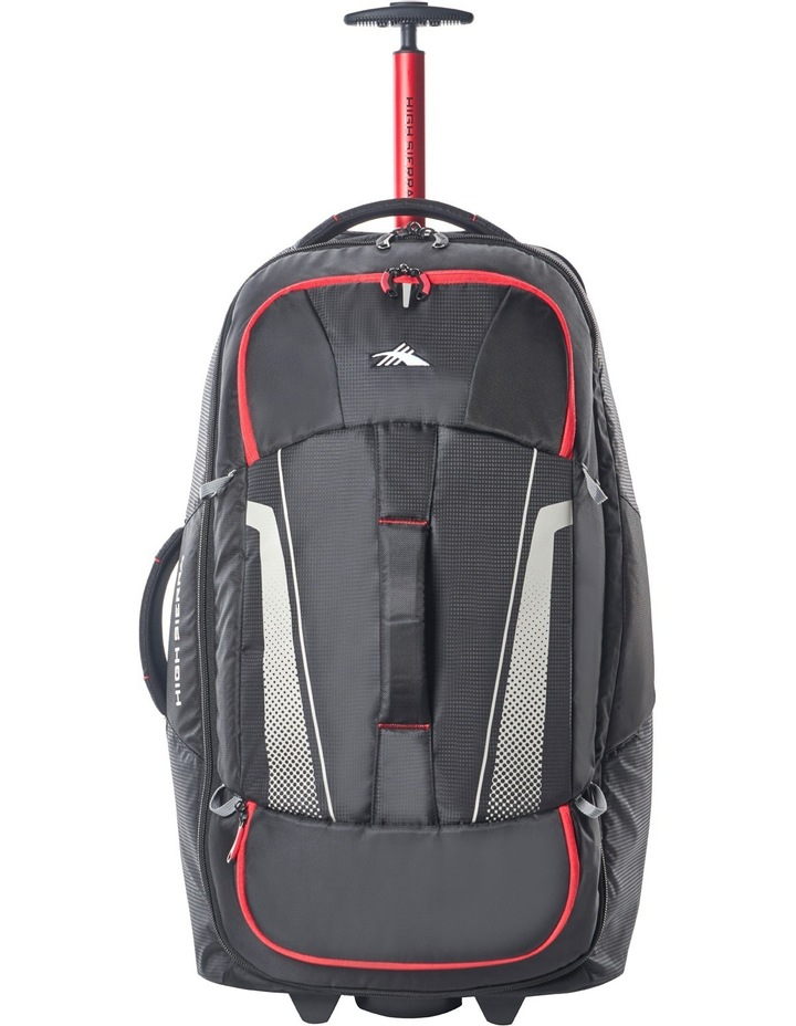 87275-1041 Composite Wheeled duffle 76cm : Black/Red 2.9kg image 1
