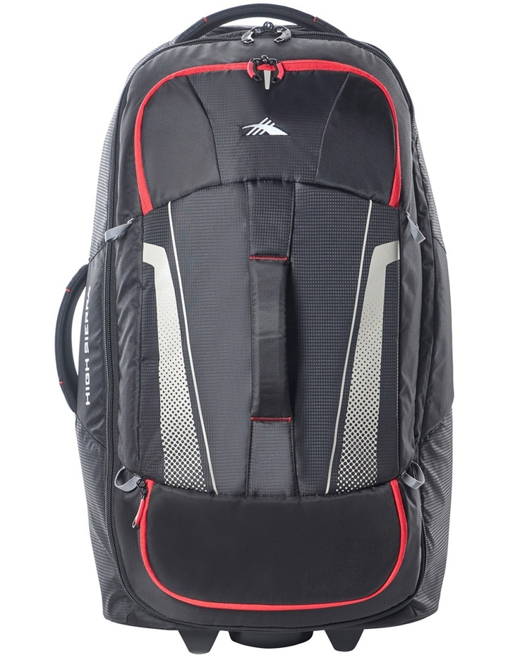87275-1041 Composite Wheeled duffle 76cm : Black/Red 2.9kg image 2