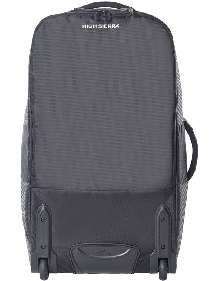 87275-1041 Composite Wheeled duffle 76cm : Black/Red 2.9kg image 3