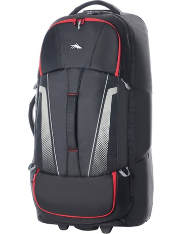 823018cc5db8 High Sierra87276-1041 Composite Wheeled duffle 84cm   Black Red 3.1kg. High  Sierra 87276-1041 Composite Wheeled duffle 84cm   Black Red 3.1kg