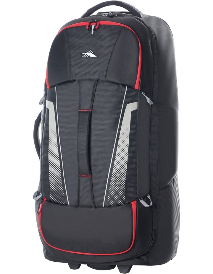 87276-1041 Composite Wheeled duffle 84cm : Black/Red 3.1kg image 1