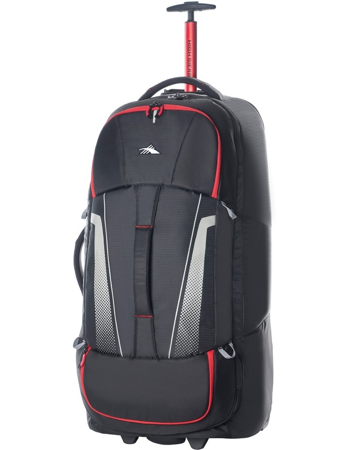 87276-1041 Composite Wheeled duffle 84cm : Black/Red 3.1kg image 2