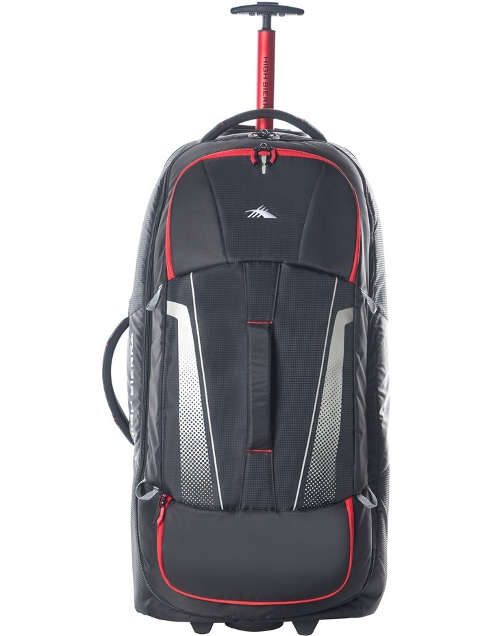 87276-1041 Composite Wheeled duffle 84cm : Black/Red 3.1kg image 3