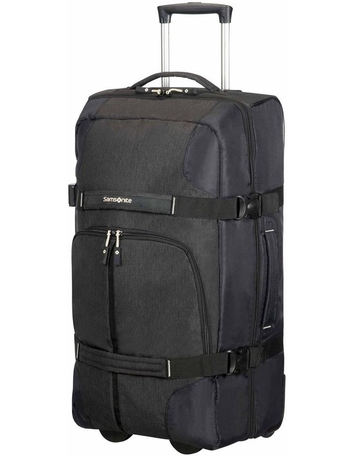 Rewind 68cm 72.5L Wheeled Duffle Bag in Black image 1