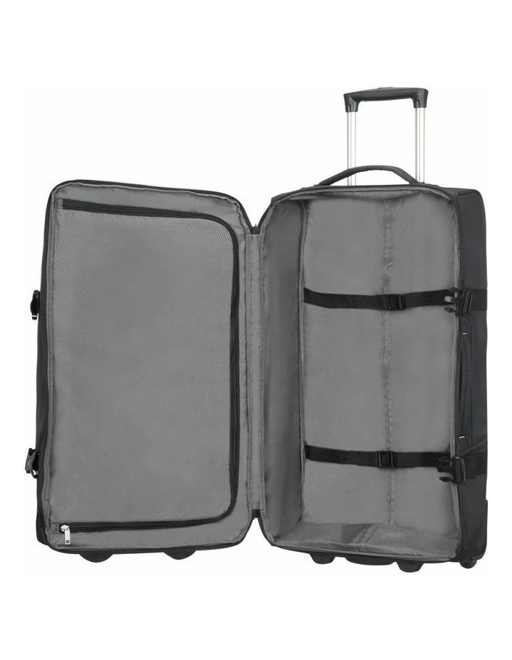 Rewind 68cm 72.5L Wheeled Duffle Bag in Black image 3