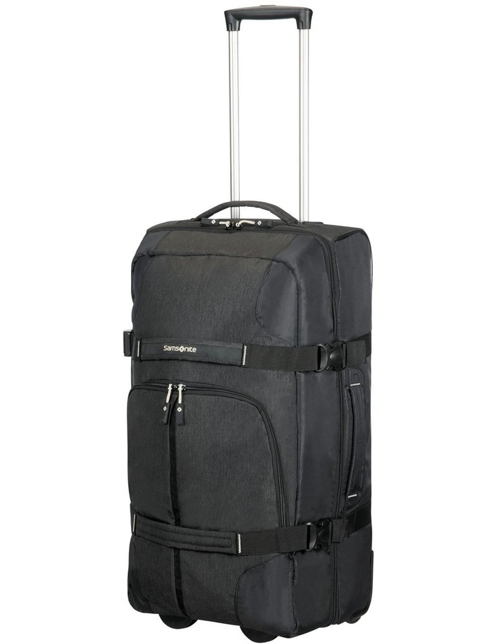 Rewind 68cm 72.5L Wheeled Duffle Bag in Black image 4